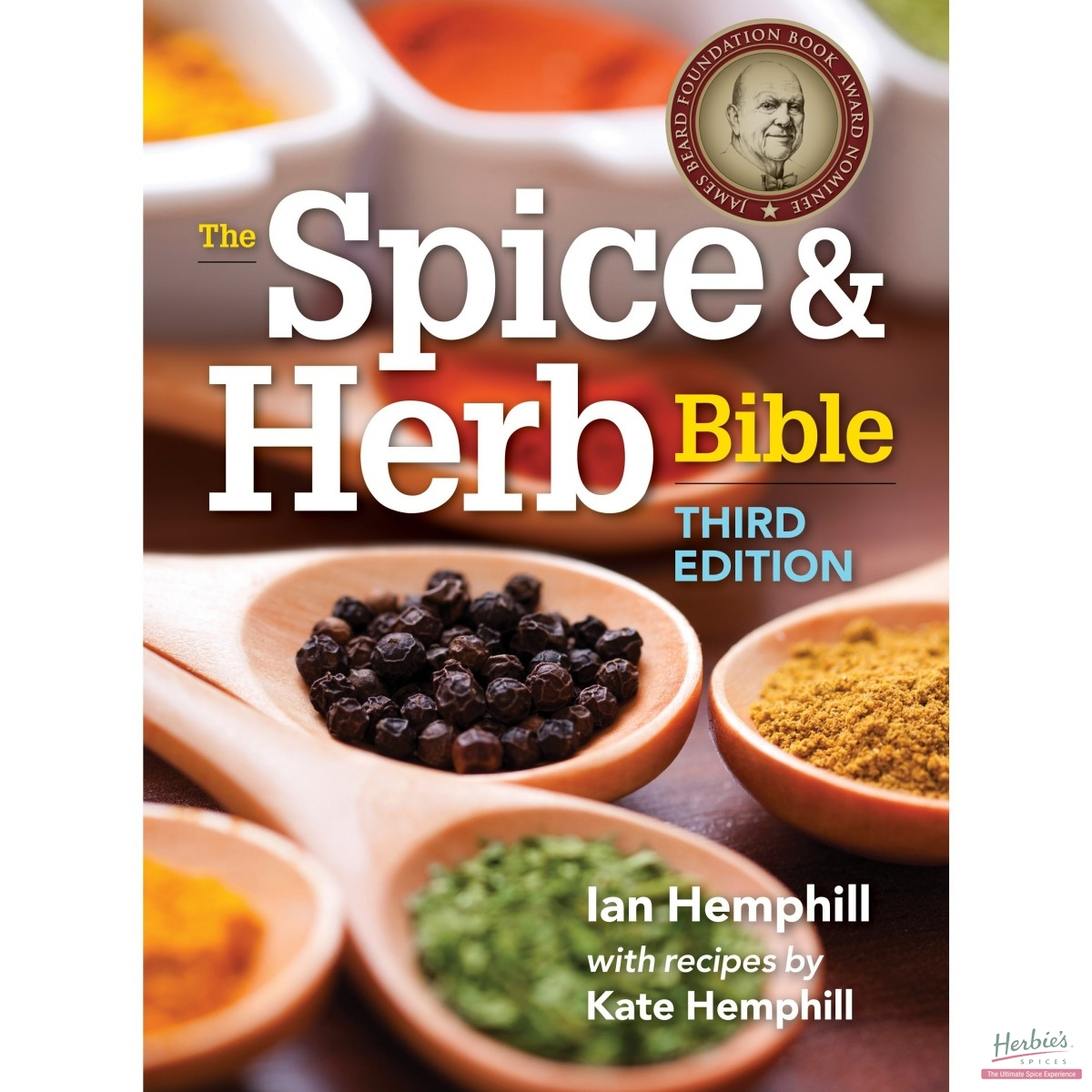 Mauritian Cookbook Cover ~ The spice herb bible rd edition soft cover herbie s