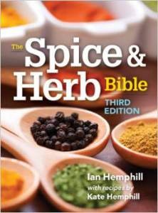 Spice & Herb Bible 3rd Edition with over 120 new recipes by Herbie's daughter Kate.