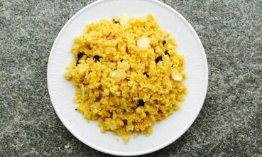 cauliflower currant almond couscous