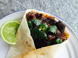 mexican pulled pork tortilla