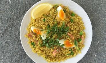 quinoa kedgeree