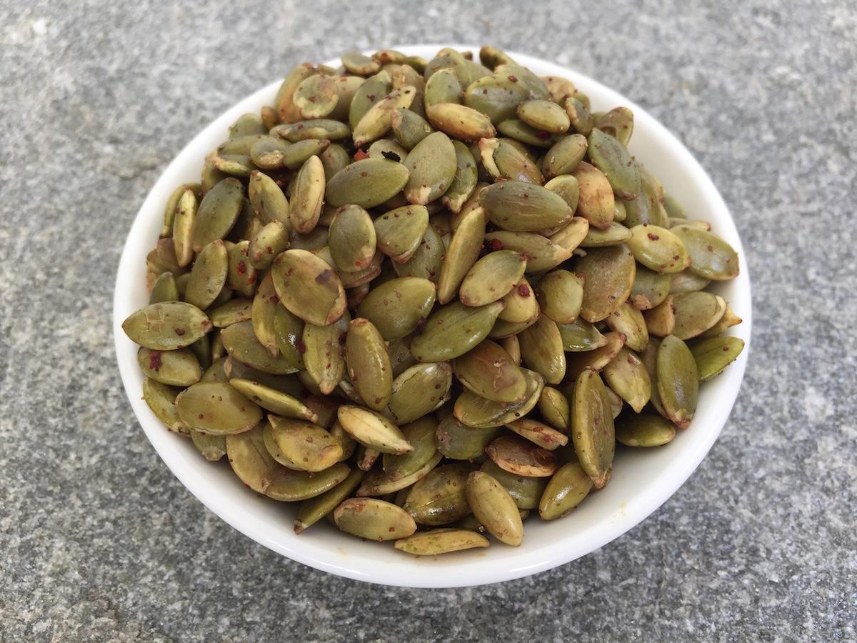 Spiced Pumpkin Seeds - Herbie's Spices