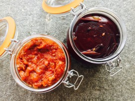 pickled beetroot tomato chutney