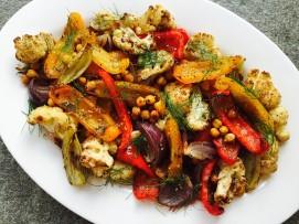 autumn roast veg