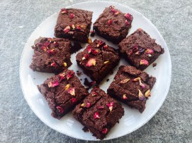 star anise pine nut brownies