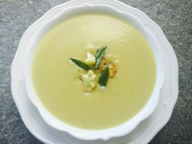 cauliflower vadouvan soup