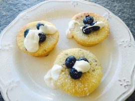 lavender lemon cakes