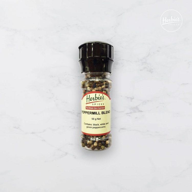 Peppermill Blend in Grinder