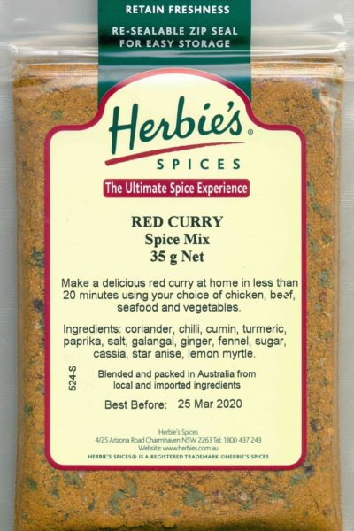 Red Curry Spice Mix