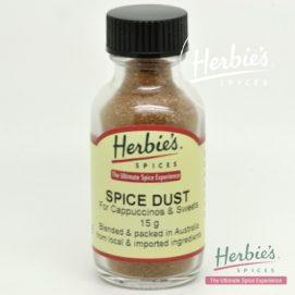 SPICE DUST (for cappuccinos & sweets) Pocket-Sized Bottle 15g