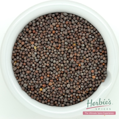 MUSTARD SEED BROWN WHOLE 70g