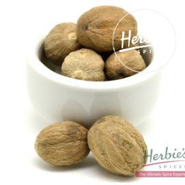 NUTMEG WHOLE SHELLED 30g